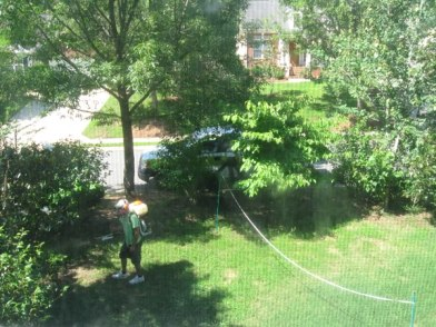 Mosquito Squad spraying your yard