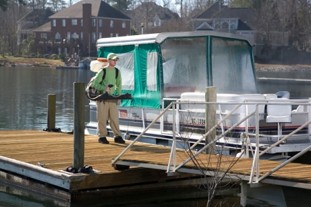 Columbia SC mosquito spray for your boat and dock